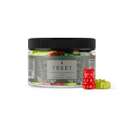 TREET Premium Vegan CBD Gummy Bears – 500mg