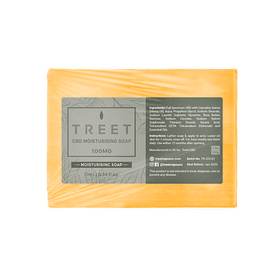 TREET moisturizing CBD Soap