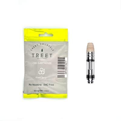 TREET 100mg CBD Vape Cartridge