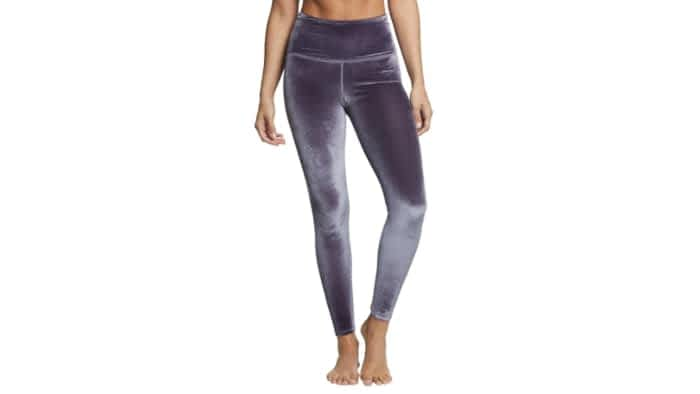 velvet yoga pants